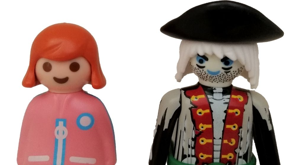 2 Playmobil Figuren